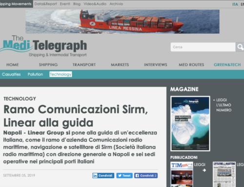 Il lancio di Sirm Italia su The MediTelegraph